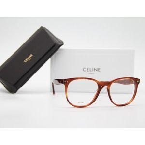 New Celine CL50021I 053 Round Eyeglasses CL 50021I